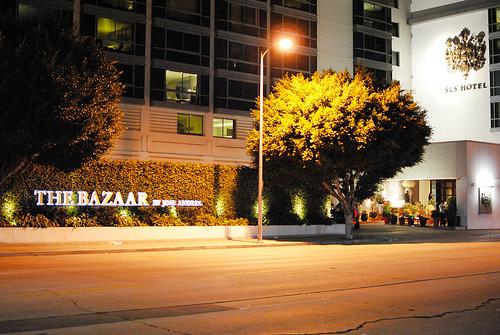 the bazaar outside